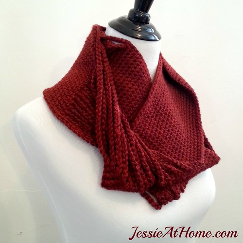 Chained-to-Infinity-Crochet-Scarf-by-Jessie-At-Home