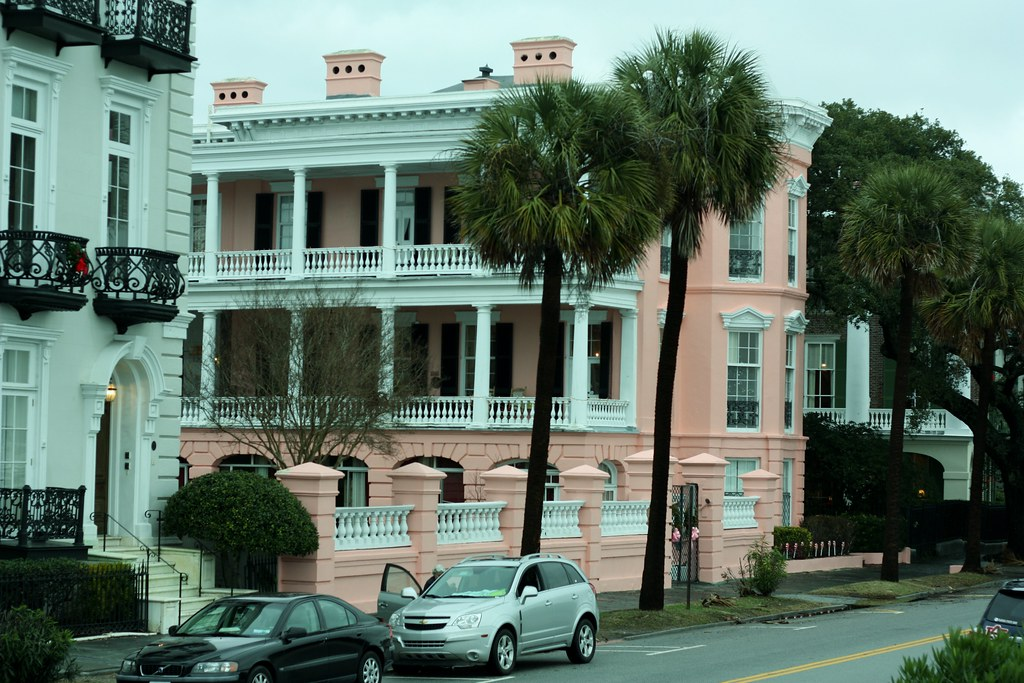 Charleston pink on the battery