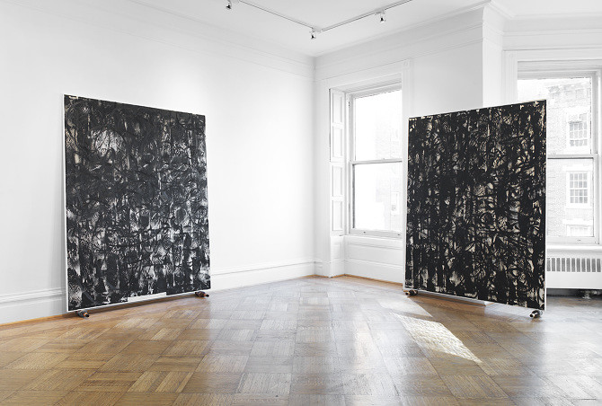 Chris Succo Fingers Installation View Robert Blumenthal NY 2014