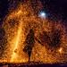 The Fire Dancer_A Million Specks of Bokeh by emoburnout