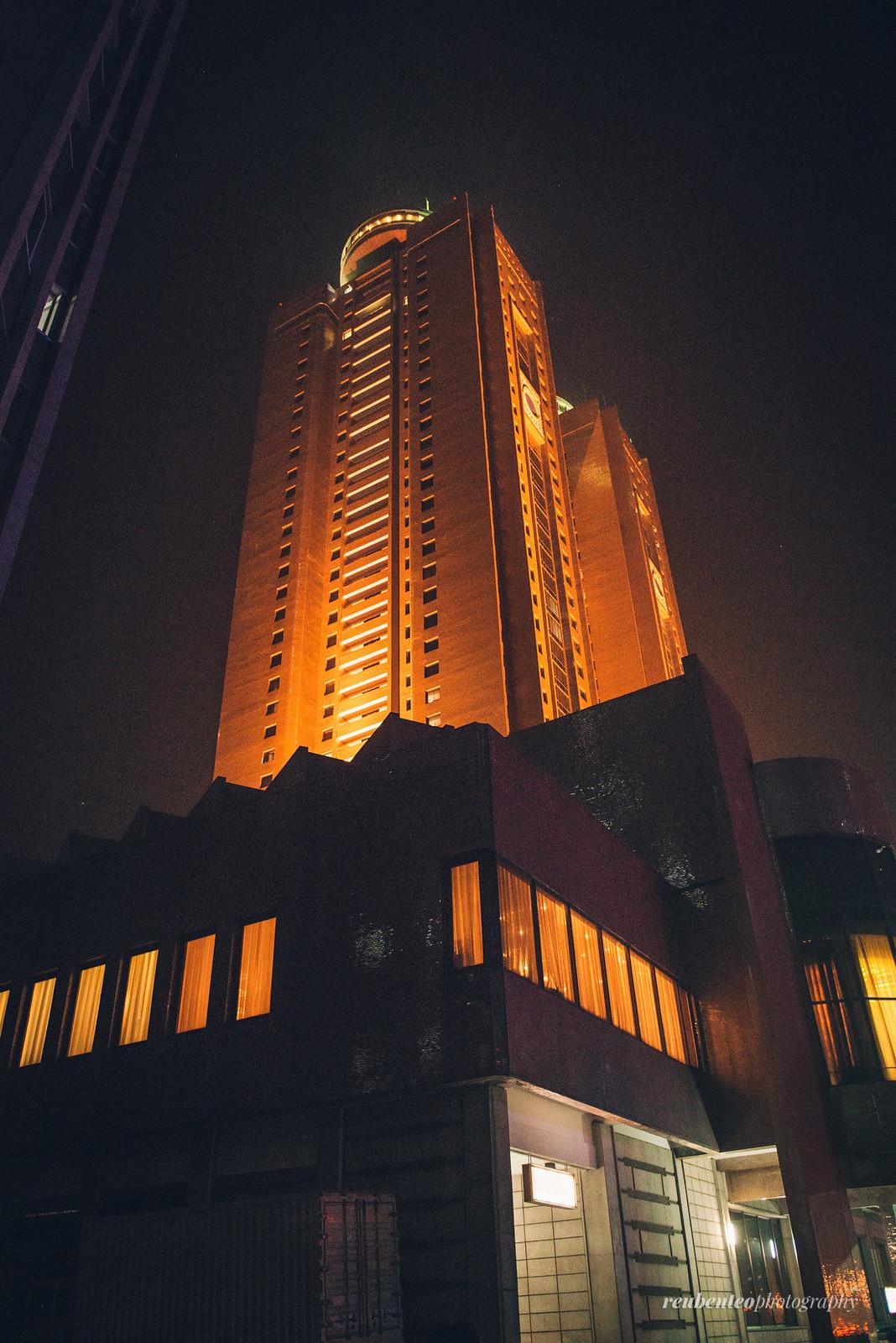 Koryo Hotel Night View