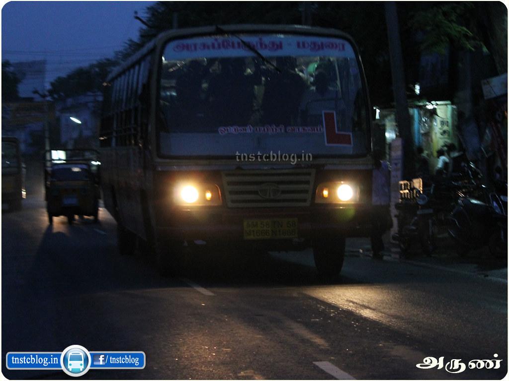 TNSTC Madurai Learner Bus