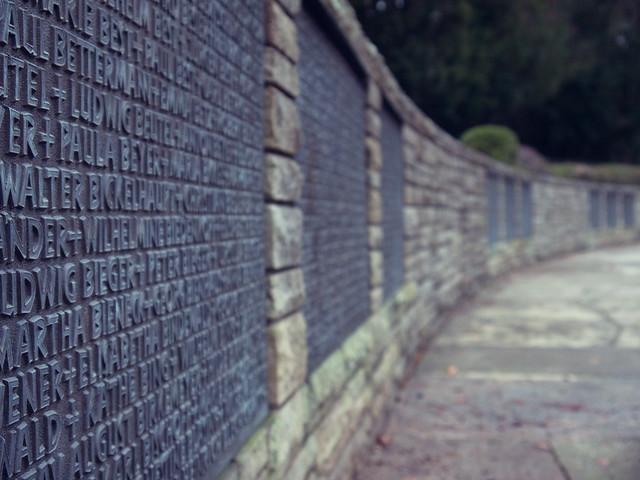 Endless Names - Waldfriedhof Darmstadt