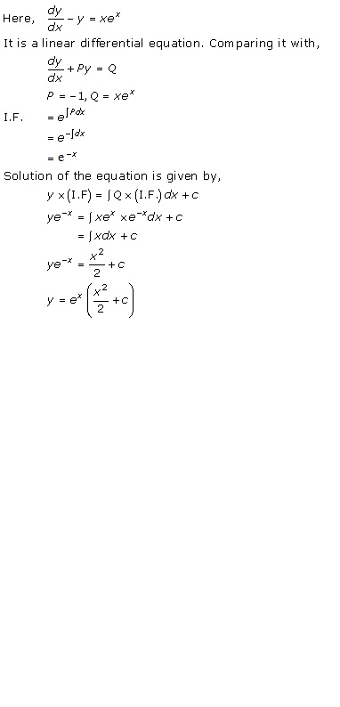 RD Sharma Class 12 Solutions Chapter 22 Differential Equations Ex 22.10 Q33