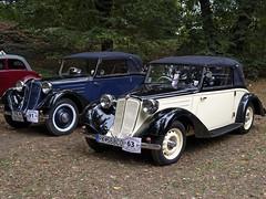 Tatra 75 Cabrio 1935 / Praga Alfa 1927