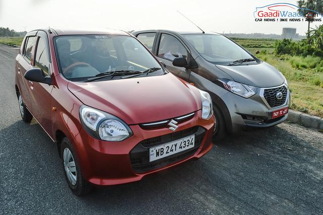 Datsun RediGo vs Maruti Alto 800: Comparison - Gaadiwaadi ...