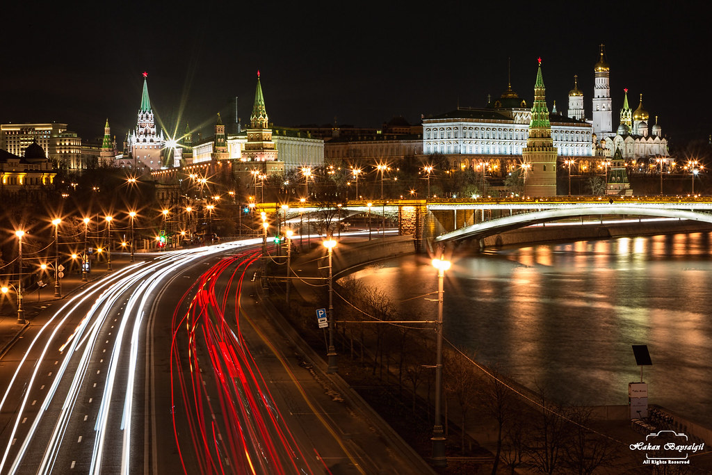 Moscow - City of Flowing Lights..