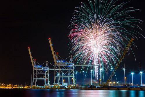 4thofjuly capecanaveral fireworks fireworksbeforethefireworks portcanaveral