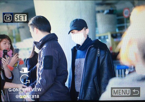 Big Bang - Incheon Airport - 07dec2015 - G-One - 02