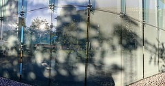 On the Outside, looking back #panorama  #shadows #light #texture #contrast #kcrw #soundinfocus #summer #music