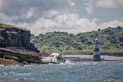 Motor Cruiser 'Le Babe' (no casualties, RNLI were in attendance)