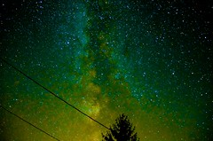 Milky Way Coloured - Photo of Ladiville