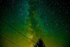 Milky Way Coloured - Photo of Jurignac