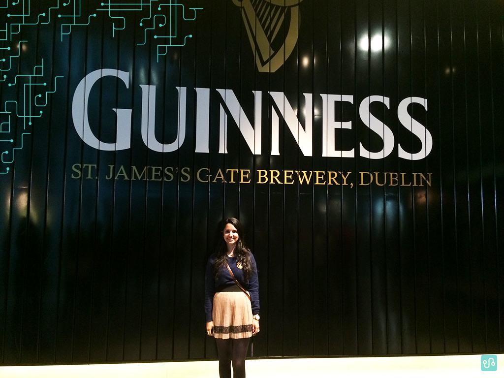 Visita na Guinness | Érika Laís | Irlanda