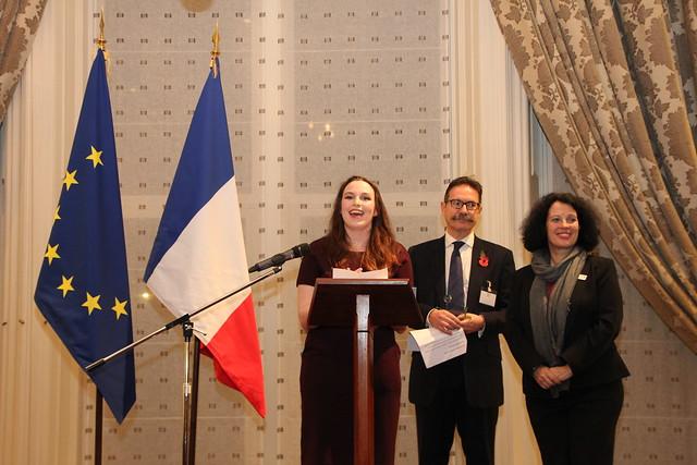 L ambassadeur r compense les meilleurs volontaires for Chambre de commerce francaise londres