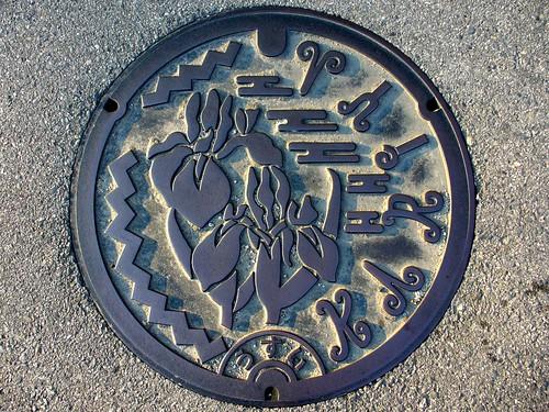 Kariya Aichi, manhole cover 2 (愛知県刈谷市のマンホール2)