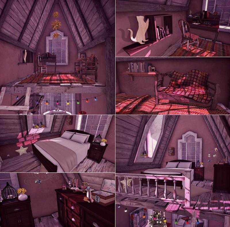 holiday house tour - loft spaces