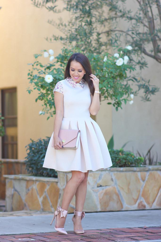 Blush Pink Tennis Shoes