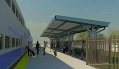 South Perris Metrolink Station, Metrolink 91 Line
