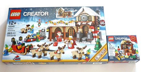 LEGO 10245 Santa's Workshop box01