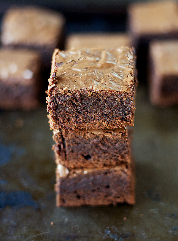classic thick and fudgy brownies