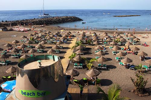 Playa Torviscas, November, Costa Adeje, Tenerife