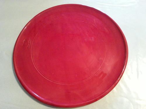 [313/365] Assiette rouge