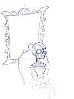 Weekly art challenge 04 - Gothic Portrait