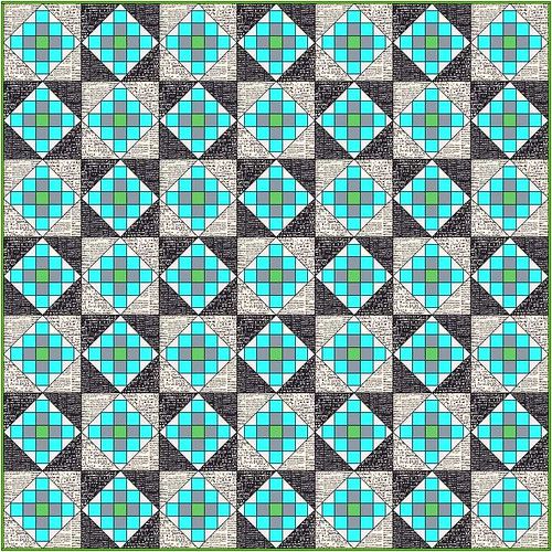 Granny Block Swap Top Plan