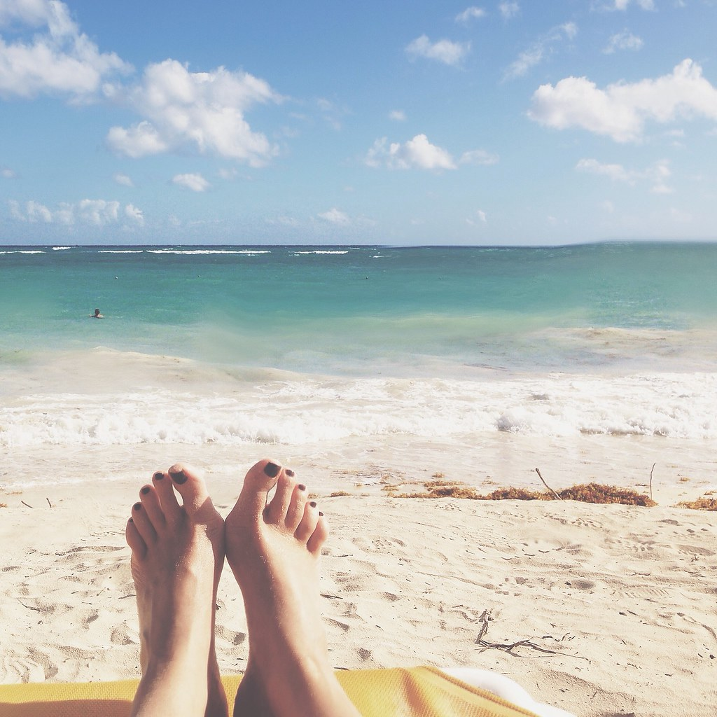 My view at the beach | Punta Cana