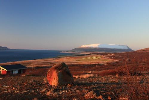 sunrise iceland akrafjall hvalfjörður