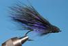 Lavender & Black marabou muddler