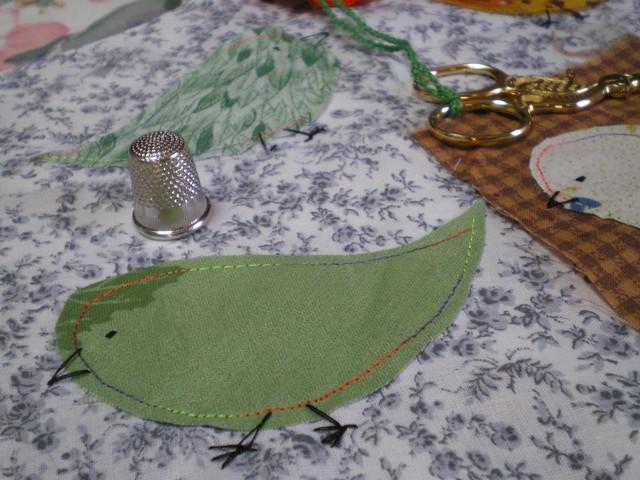 De nouvelles petites cartes textiles