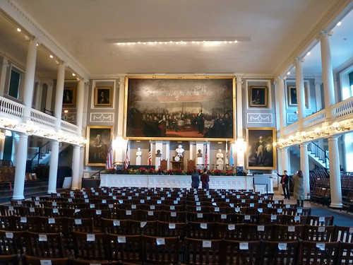 Great Hall at Faneuil Hall