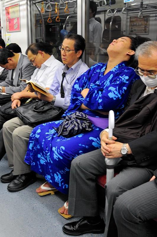 Sumo on subway