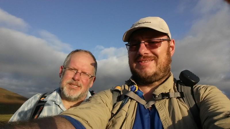 Latrigg summit photo with @paulgbuck