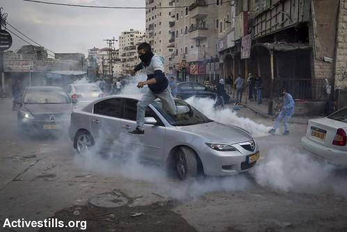 Clashes in Shuafat Refugee Camp, East Jerusalem, 5.11.2014