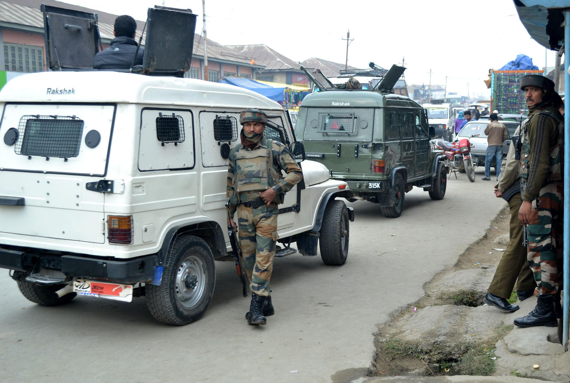 India has become 'synonymous with a military bunker or a police vehicle'. Photo credit: IANS