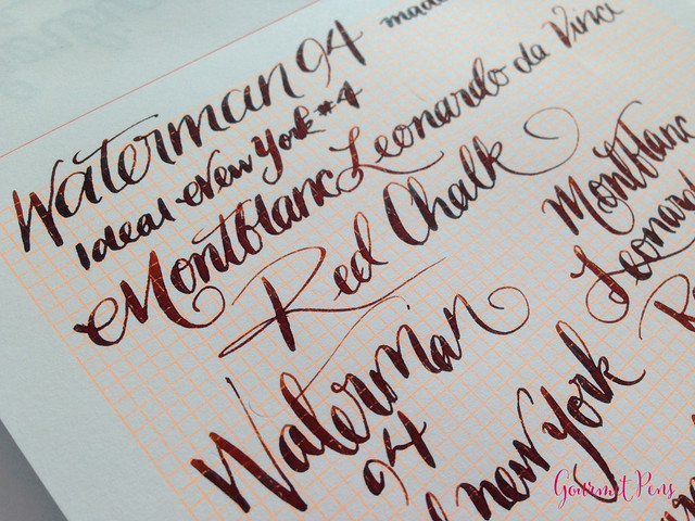 Review: Le Typographe A5 Pad - Orange Grid @NoteMakerTweets