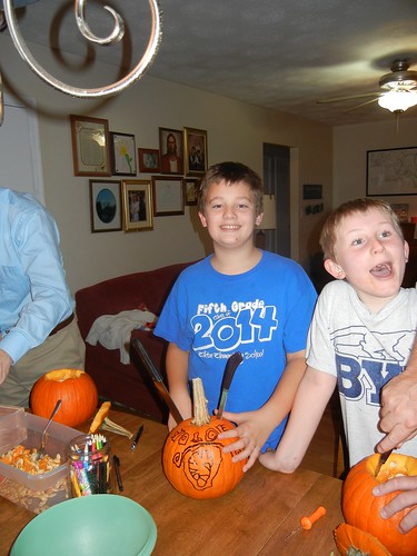 Oct 17 2014 Doller pumpkin carving (2)