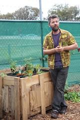 Brian Bainbridge from Sustainable Fawkner speaking at mini-parade Fawkner IMG_9517-2000x3000-brian-bainbridge