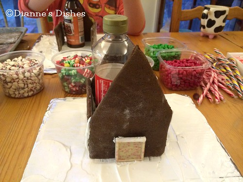 Gingerbread House: Putting it Together