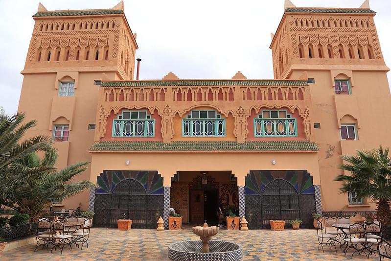 Hotel Kasbah Asmaa courtyard