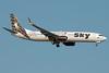 TC-SKP Sky Airlines 737-800W Antalya