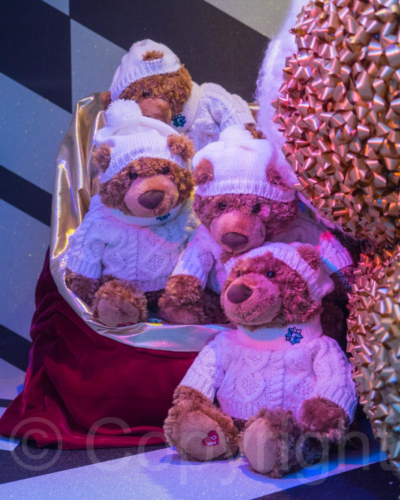 2014 Bloomingdales Holiday Window Display, Manhattan, New York City