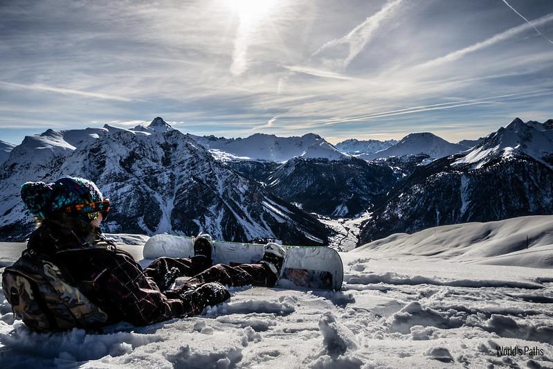 Snowboard Monginevro