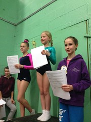 Under 11 Girls Novice Presentation