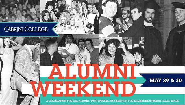 Alumni Weekend - Cabrini College - May 29 & 30