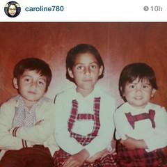 Mi hermana me salió con las fotos de la infancia...