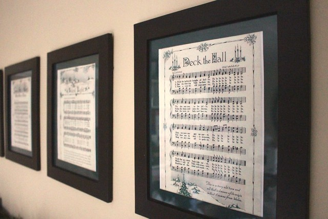 picture about Printable Christmas Sheet Music identify Framed Printable Xmas Sheet Audio far more strategies towards retain the services of